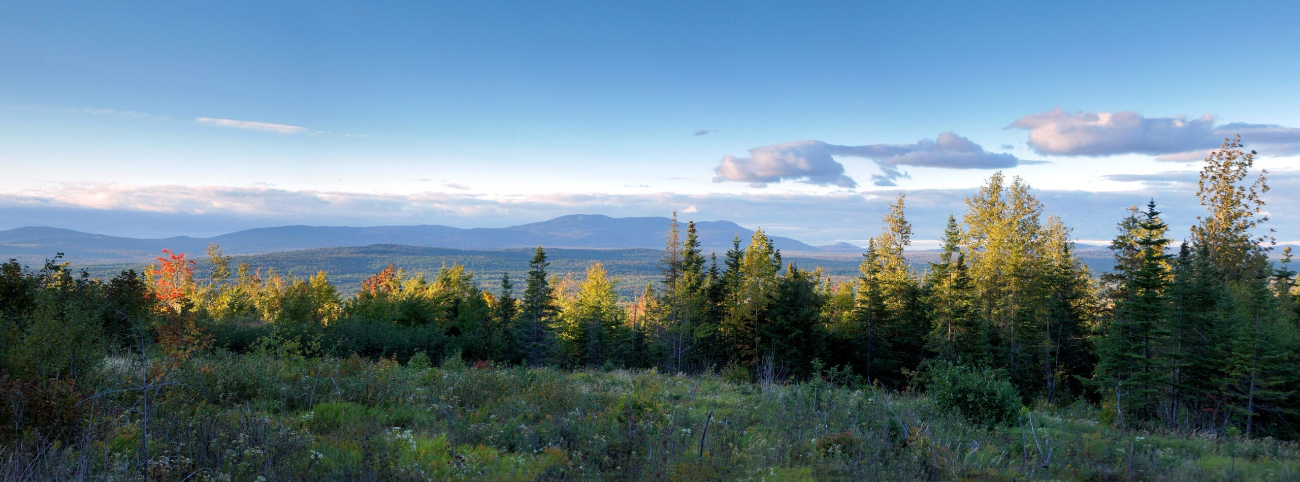 Moose River Valley, View from Route 201, Maine's Kennebec Valley, photo